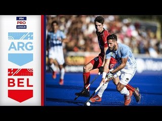 Argentina v Belgium | Week 2 | Men's FIH Pro League Highlights