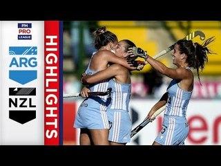 Argentina v New Zealand | Week 13 | Women's FIH Pro League Highlights