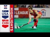 USA v China | Week 17 | Women's FIH Pro League Highlights