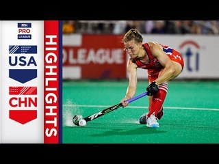 USA v China | Week 17 | Women's FIH Pro League Highlights