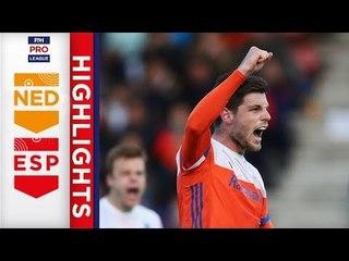 Netherlands v Spain | Week 13 | Men's FIH Pro League Highlights