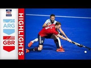 Argentina v Great Britain | Week 12 | Men's FIH Pro League Highlights