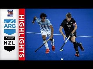 Argentina v New Zealand | Week 13 | Men's FIH Pro League Highlights