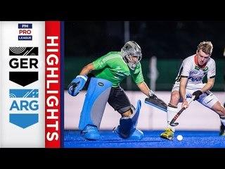 Germany v Argentina | Week 18 | Men's FIH Pro League Highlights