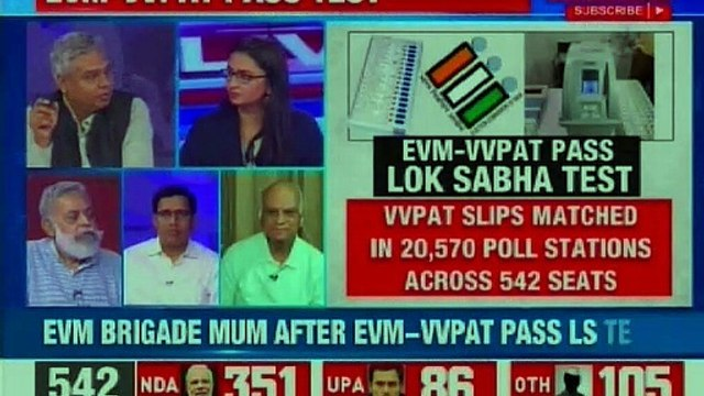 21 Opposition parties led by Chandrababu Naidu alleged rigged EVMs; end of EVM-VVPAT row?
