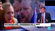 Démission de T. May : Boris Johnson fait figure de favori pour la succession
