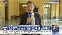 """""""On en a ras-le-bol de ce duel minable"""" Nicolas Dupont-Aignan refuse l'appel au rassemblement de Jordan Bardella"""