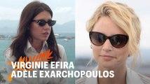 Adèle Exarchopoulos et Virginie Efira : l'interview croisée