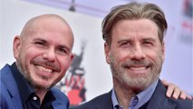 John Travolta Shaved His Head Because Of Pitbull