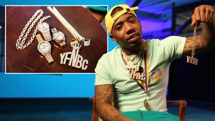 YFN Lucci Shows Off His Insane Jewelry Collection