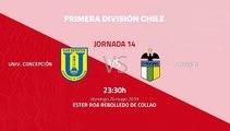 Previa partido entre Univ. Concepción y O'Higgins Jornada 14 Primera Chile
