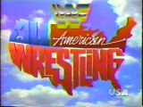 WWF All-American Wrestling 1993 INTRO