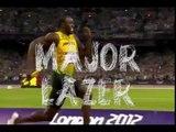 Major Lazer-Run Up MVGEN Usain Bolt Video