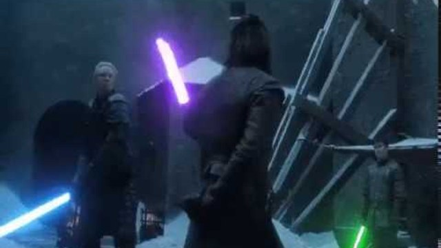 Game Of Thrones x Star Wars Music With Light Sabers