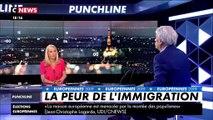 """Bernard Tapie sur les européennes : """"Marine Le Pen a pris un parti, celui du populisme"""""""