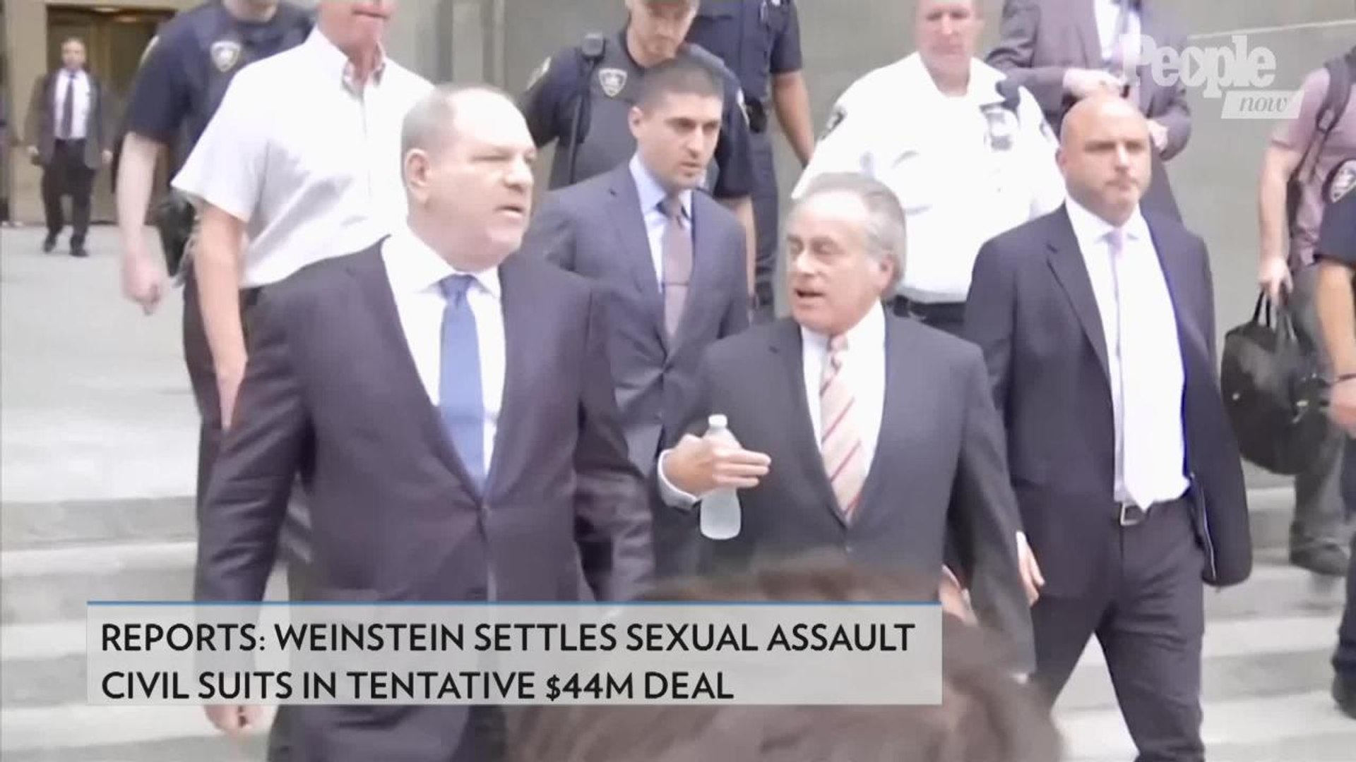 Harvey Weinstein Settles Sexual Assault Civil Suits in Tentative $44M Deal: Reports