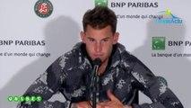 """Roland-Garros 2019 - Dominic Thiem :  """"Mon objectif ,c'est gagner ce tournoi de Roland-Garros"""""""