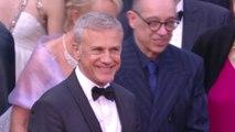 Christoph Waltz tout sourire sur le tapis rouge - Cannes 2019