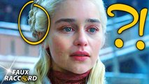 Les (Dingues?) Erreurs de GAME OF THRONES Saison 8 - Faux Raccord