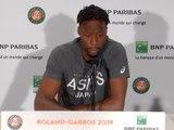 """Roland-Garros - Monfils : """"J'essaye de retrouver de bonnes sensations"""""""