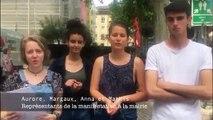 Avignon : 600 jeunes alertent sur le climat avant les Européennes