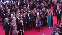 Julie Bertuccelli, Samuel Le Bihan et les membres de l'opération moteur - Cannes 2019
