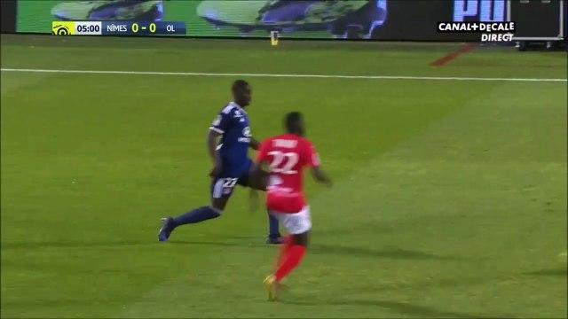 Nîmes 0-1 Lyon - Cornet goal