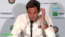 """Roland-Garros 2019 - Roger Federer : """"Un vrai plaisir d'être de retour ici à Paris à Roland-Garros"""""""