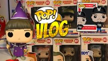 STRANGER THINGS 3 NETFLIX SERIES FUNKO POP (ALL OF THEM) VLOG + REVIEW