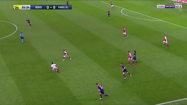 Reims 1-0 PSG - Baba goal