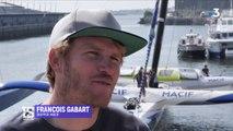 Six mois après son avarie, François Gabart retrouve enfin son maxi-trimaran