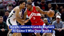 Kawhi Leonard Takes Game 5