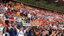 Así suena el himno regional en Mestalla con los campeones de Copa del Rey