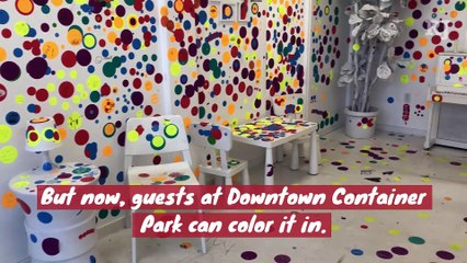 You can decorate this sticker room in downtown as Vegas