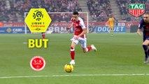 But Mathieu CAFARO (56ème) / Stade de Reims - Paris Saint-Germain - (3-1) - (REIMS-PARIS) / 2018-19