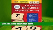 Trial New Releases  The Official Scrabble Players Dictionary, Sixth Edition by Merriam-Webster