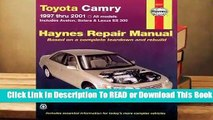 Online Toyota Camry and Lexus Es 300 Automotive Repair Manual: Models Covered: All Toyota Camry,