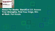 About For Books  StandOut 2.0: Assess Your Strengths, Find Your Edge, Win at Work  For Kindle