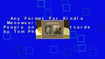 Any Format For Kindle  Menswear: Vintage People on Photo Postcards by Tom Phillips
