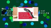 PDF] Python Machine Learning Cookbook Popular Colection - video
