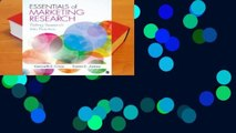 Popular Essentials of Marketing Research: Putting Research Into Practice - Karen E. James