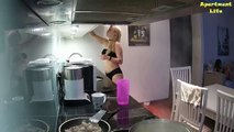 RealLifeCam - Becky Cooking