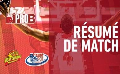 Matchs - Résumé vidéo : J.A.VCM / Rouen (Pro B J34)