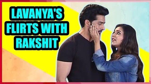 Divya Drishti: Lavanya flirts with Rakshit