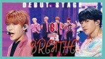 [Debut Stage]  AB6IX - BREATHE ,  에이비식스 - BREATHE  Show Music core 20190525