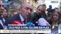 """Gérard Collomb sur le colis piégé à Lyon: """"le dispositif de sécurité a été renforcé pour cet après-midi"""""""
