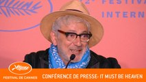 IT MUST BE HEAVEN - Conférence de presse - Cannes 2019 - VF