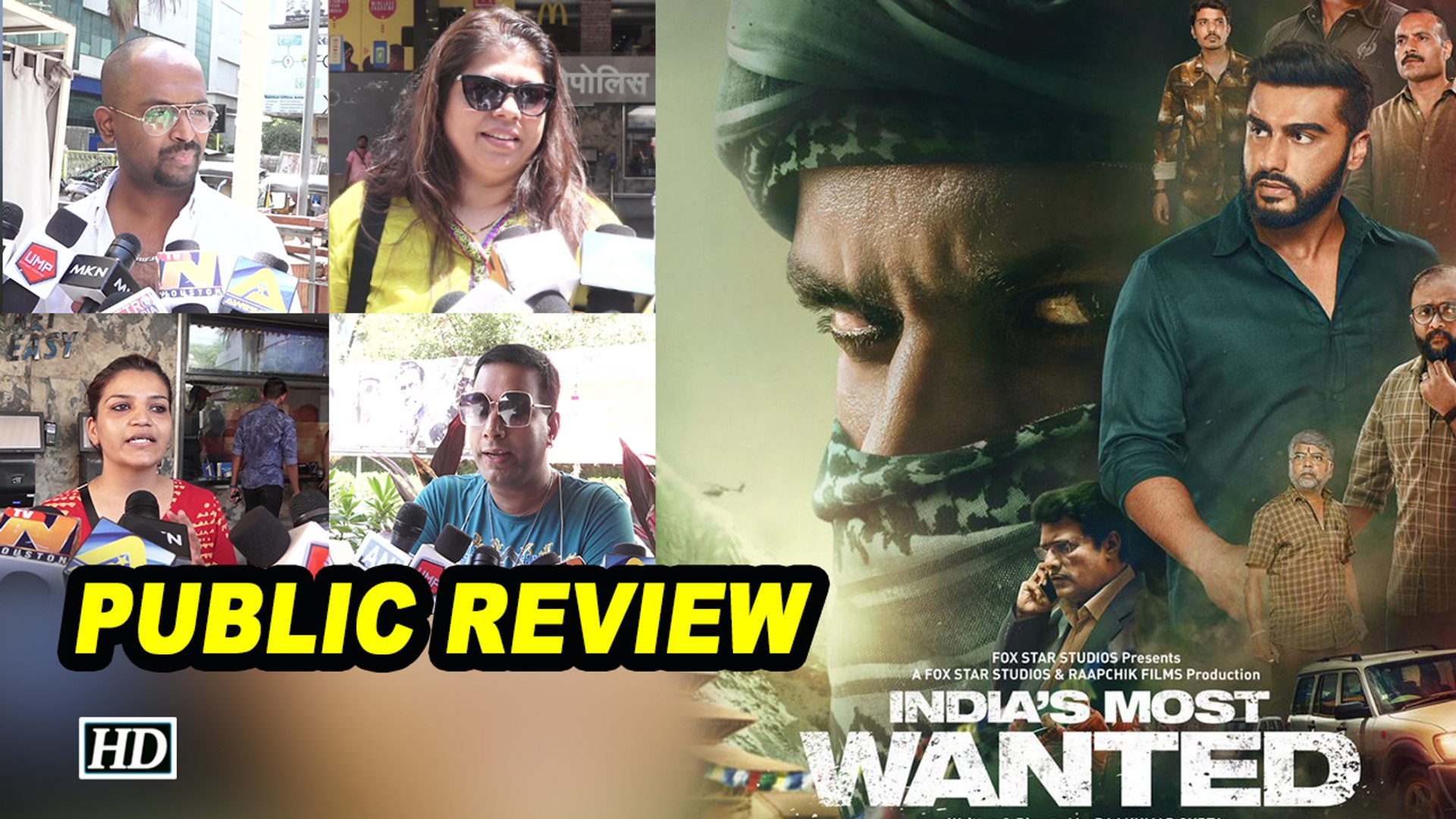 Public Review | India's Most Wanted | Arjun Kapoor embarks deadly mission