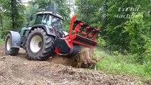 Extreme Fastest Big Tree Removal Machine Working, Amazing Modern Powerful Wood Chipper Machines