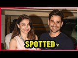 Angad Bedi, Soha Ali Khan and Kunal Khemu were spotted at Saif house